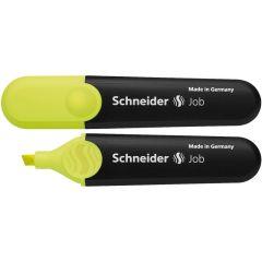 Textmarker SCHNEIDER Job, varf tesit 1+5mm - galben