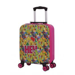 Troller 16 inch, material ABS, LEGO Minifugures - HEY