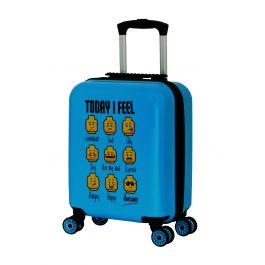 Troller 16 inch, material ABS, LEGO Minifugures - TODAY I FEEL