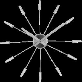Ceas de perete, D-58 cm, otel inoxidabil, NeXtime -