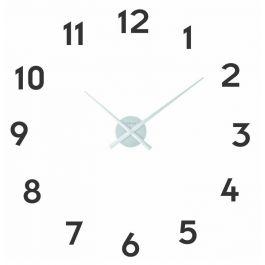Ceas de perete, D-48 cm x 3 cm, cifre arabe, aluminiu, NeXtime -