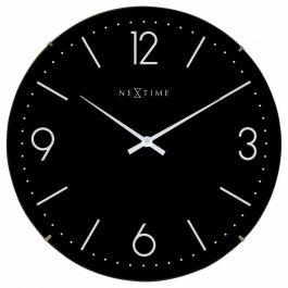 Ceas de perete, D-35 cm, cifre arabe, sticla convexa, NeXtime -