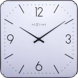 Ceas de perete, 35x35 cm, cifre arabe, sticla convexa, NeXtime -