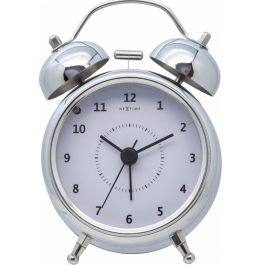 Ceas desteptator, D-9 cm, cifre arabe, metal, NeXtime -
