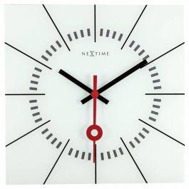 Ceas de perete, 35x35 cm, sticla, NeXtime -
