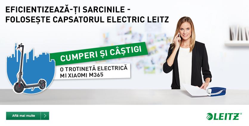 Capsatorul electric Leitz!