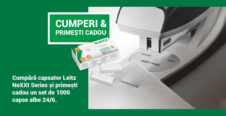 Promo capsator Leitz Nexxt!